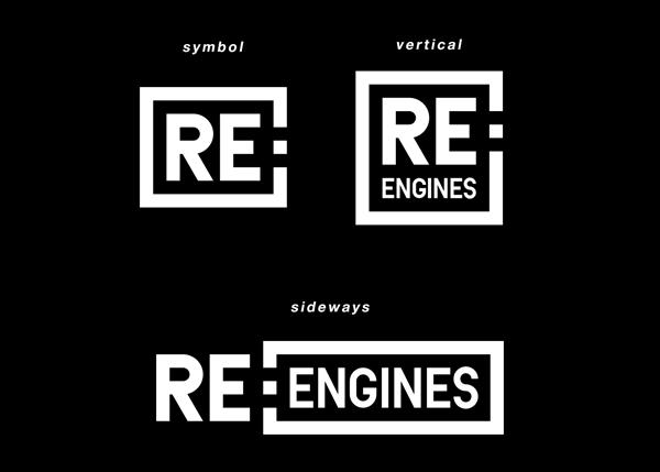 RE:ENGINES ロゴデザイン